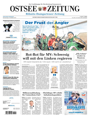 Ribnitz-Damgarten vom Donnerstag, 14.10.2021