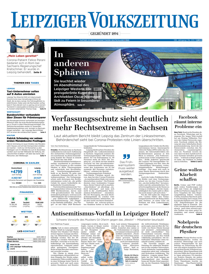 Leipziger Volkszeitung vom Mittwoch, 06.10.2021