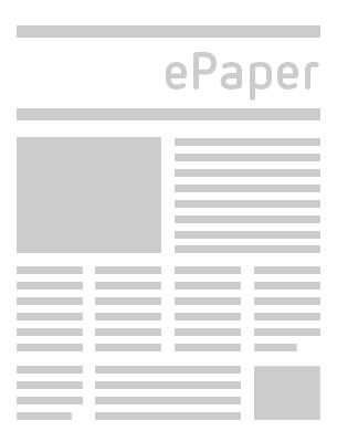 Eichsfelder Tageblatt  vom Freitag, 11.06.2021